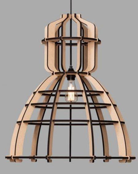 Het lichtlab No 19 XL hout