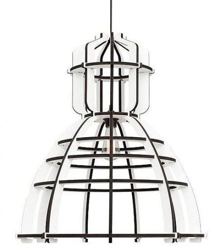 Het lichtlab No 19 XL wit