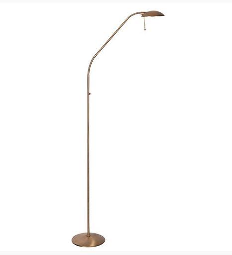 Vloerlamp Tamara brons