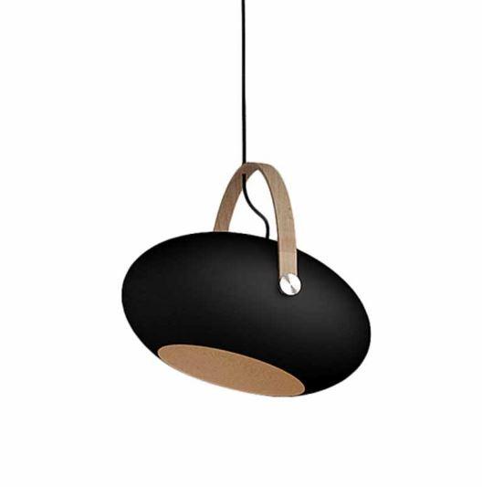 DCpendant 40 cm zwart