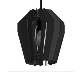 HL Corners 18 cm zwart
